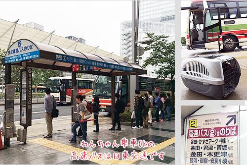 高速バス乗り場2番